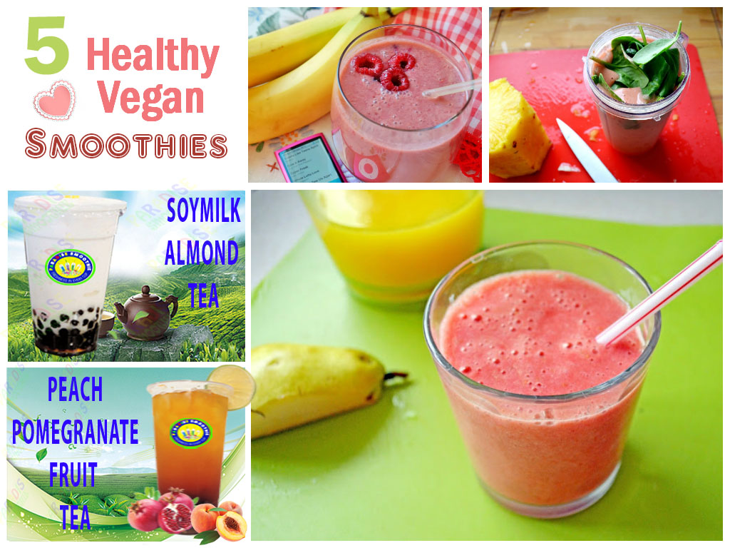 5 vegan smoothies