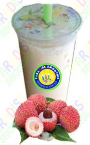 Lychee Boba Smoothie