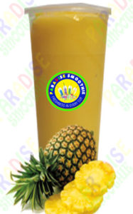 Pineapple Boba Smoothie