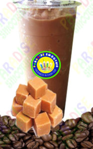 Butterscotch Coffee Boba Smoothie