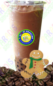 Ginger Bread Coffee Boba Smoothie
