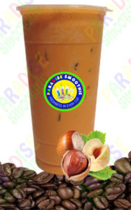 Hazelnut Coffee Boba Smoothie