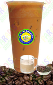 Irish Creme Coffee Boba Smoothie