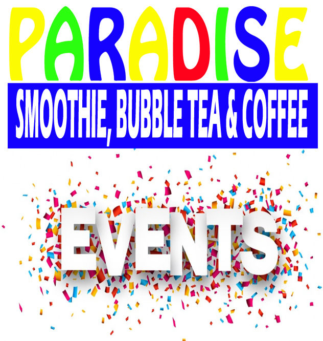 Paradise Smoothie Events